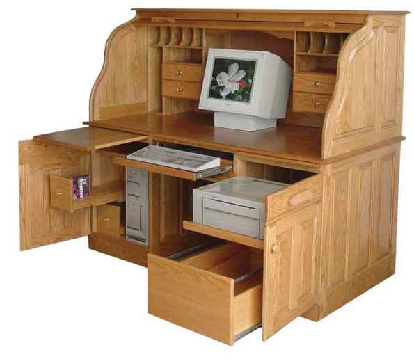 Page 5 64rolltopdesk Office Desks Bookcases File Cabinets And More Illinois Amish Crafted Furniture Illinois Amish Furniture Arthur Illinois